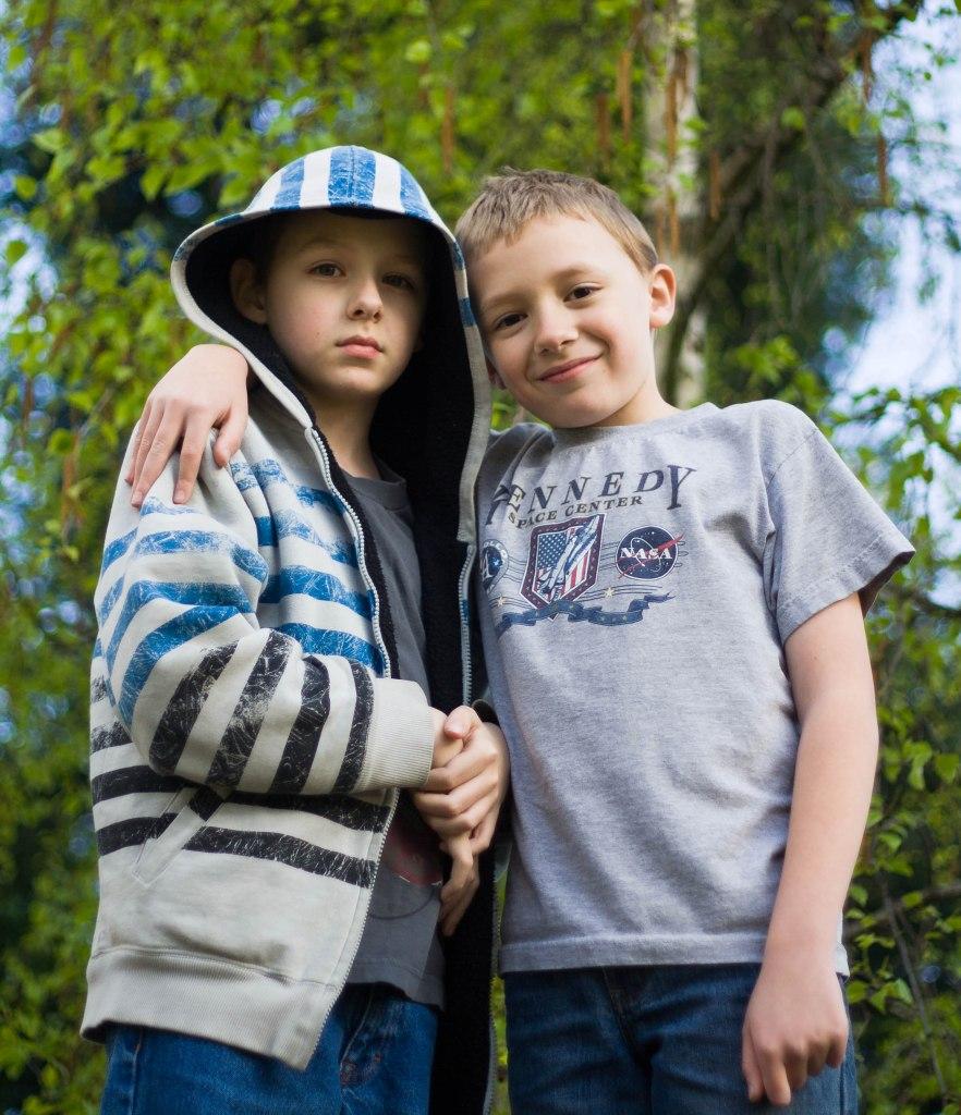 Dawson and Devin Hunt